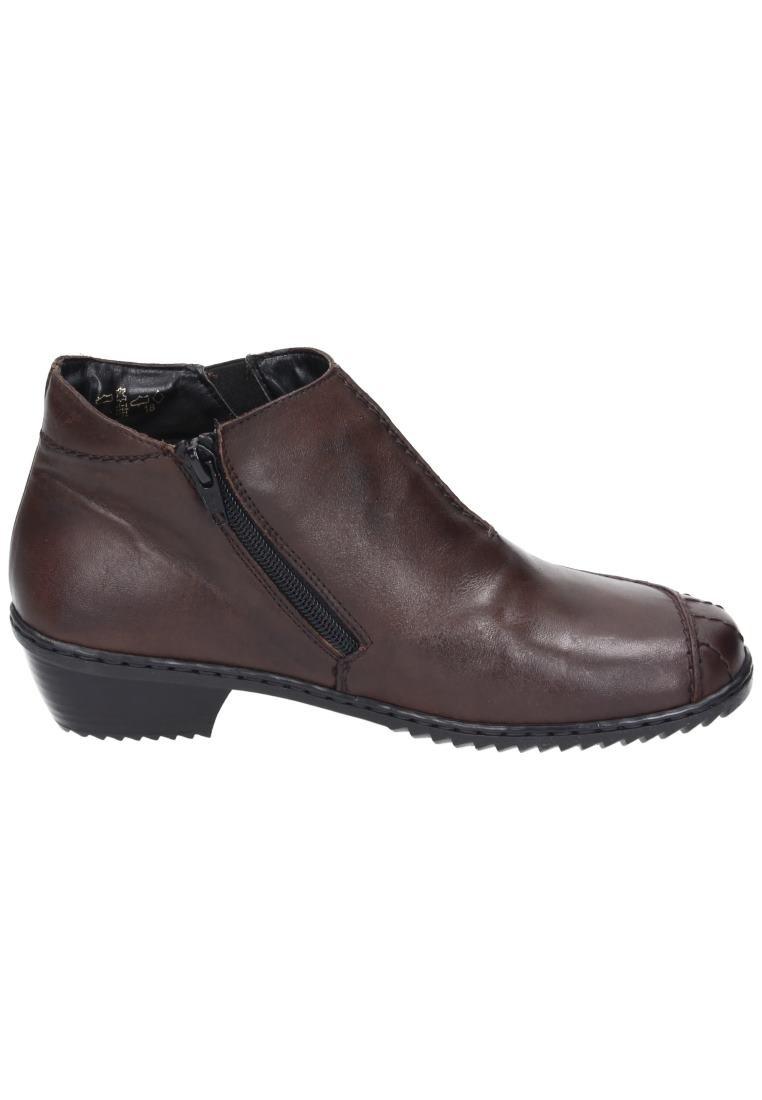 Rieker Girls' A Wter Boot I Will Pass Dark Brown Geprägtes Leder Uniform Dress Shoes 42 by Rieker (Image #3)