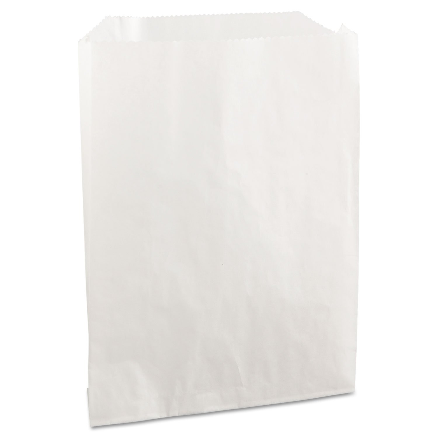 BGC450019 - Pb19 Grease-Resistant Sandwich/Pastry Bags, 6 X 3/4 X 7 1/4, White