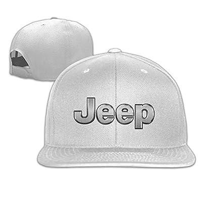 MaNeg Jeep Logo Unisex Fashion Cool Adjustable Snapback Baseball Cap Hat One Size