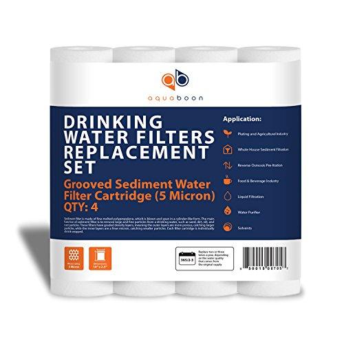 4 x 10 water filter - 5