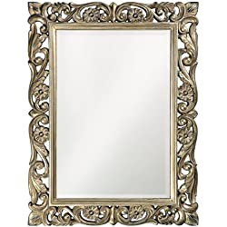 Howard Elliott 2113 Chateau Mirror, French Pewter