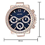 ADAMO Multifunction Working Inner Hands Men's & Women's Watch BG-A208