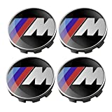 SQSM Wheel Centre Caps 68mm For BMW M 1 3 5 7 x1 x3 x5 x6 z3 z4 (M)