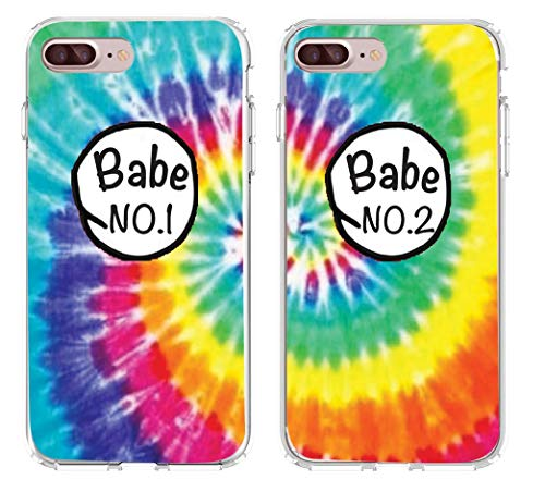 SHARK Babe 1 & Babe 2 Design Lovers Couple Best Friends Tie Matching Cases for (2case for iphone 5/5s)