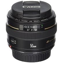 Canon EF 50mm f/1.4 USM Standard-Prime Lens Body Only Lenses, Black