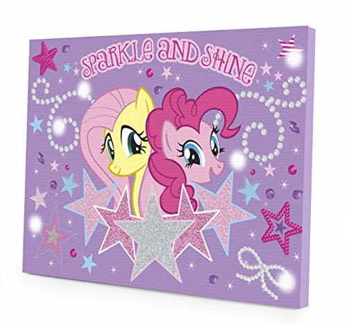 My Little Pony Canvas LED Wall Art (Bedroom My Design)