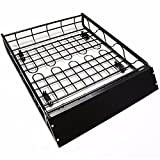 Universal Hard Roof Rack Cargo Basket Luggage Carrier Roof Basket Travel SUV Holder