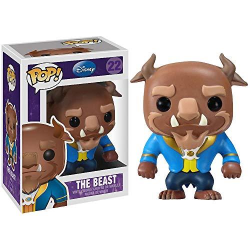 Funko The Beast: Beauty & The Beast x POP! Disney Vinyl Figure & 1 POP! Compatible PET Plastic Graphical Protector Bundle [#022 / 02475 - B]