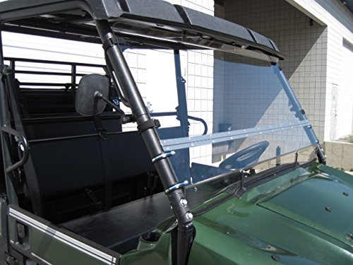 Kawasaki Mule Pro Series 2015 and Newer FULL-TILT WINDSHIELD. We need to know what kind of roof you have Hard or Soft? Check email/junk file for message after order is placed by UTV Windshields and Accessories (Image #2)