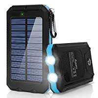Ayyie Solar Charger,10000mAh Solar Power...