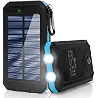 Ayyie 10000 mAh Portable Solar Power Bank