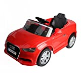 Costzon Kids Ride On Car, Licensed Audi A3 12V 2WD Battery Powered Ride-On