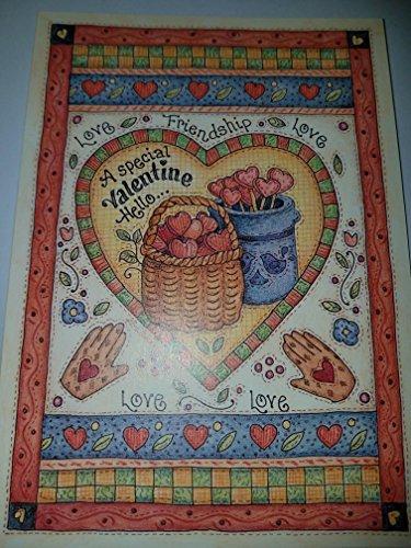 RA Lang Valentines Day Card