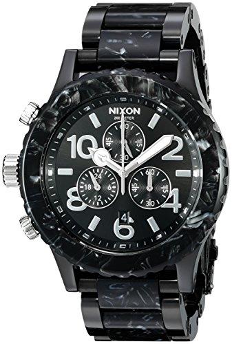 Nixon Men's A0372185 42-20 Chrono Analog Display Japanese Quartz Multi-Color Watch -  Nixon Inc.