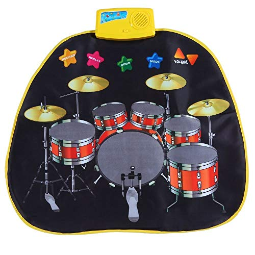 Electronic Musical Jazz Drum Mat Music Blanket Carpet Educational Toy Amazing Gifts for Boys & Girls and Baby Kids 72x62cmM by Mefashion (Image #5)
