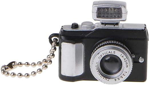 Kofun - Llavero, diseño de Mini cámara réflex TLR con Luces LED ...