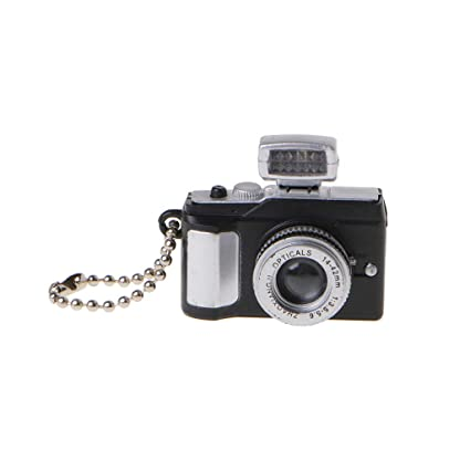 yhdcc44 Mini Cute Reflex TLR Cadena de Llaves LED, Linterna LED ...
