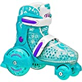 Roller Derby E Z ROLL Adjustable Kids Skate Teal Medium 12-2