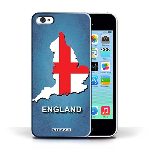 KOBALT® Hülle Case für Apple iPhone 5C | England/Englisch Entwurf | Flagge Land Kollektion