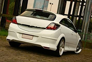 Opel Astra H GTC trasero Delantal trasero labio Top OPC: Amazon.es: Coche y moto
