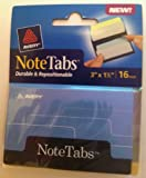 Avery NoteTabs Books, 3 x 1.5 Inch Round Edge, Pack of 16 (16385)