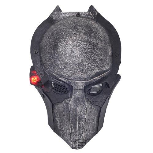 FMA New Wire Mesh Alien Vs Predator AVP Falconer Full Face Protection Paintball Mask Luminous Version ()