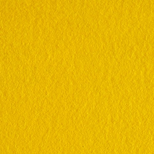Newcastle Fabrics Polar Fleece Solid Bright Yellow Fabric By The - Vest Woven Fleece