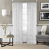 Best Home Fashion Sheer Curtains - Elrene Home Fashions Iron Work Sheer Vesta Semi Review