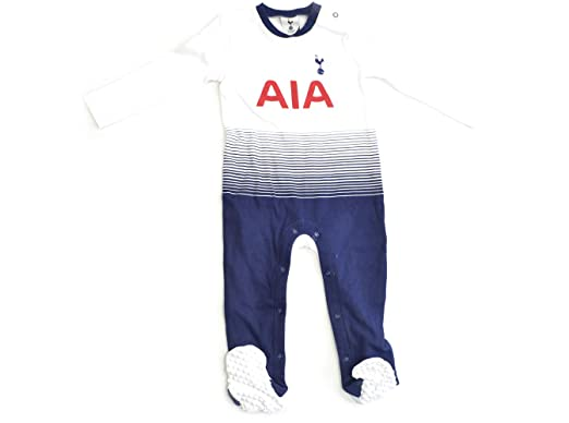 83a4d0b9b Tottenham Hotspur F.C. Baby Sleepsuits 2018 19 ST  Amazon.co.uk ...
