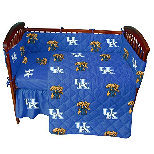 (College Covers Kentucky Wildcats 5 Piece Baby Crib Set )