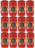 Old Spice Antiperspirant Deodorant for Men, Nomad Scent, Invisible Solid, Red Collection, 2.6 Oz (Pack of 12)