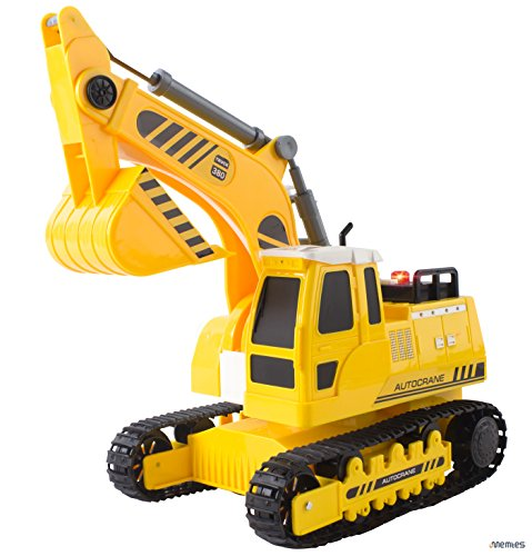 Memtes Friction Powered Excavator Tractor product image