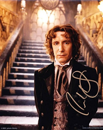PAUL McGANN as The 8th Doctor - The Doctor Who TV Movie GENUINE AUTOGRAPH from Celebrity Ink
