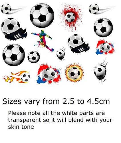 Football Collection (Football Soccer Temporary Tattoos ...)]()