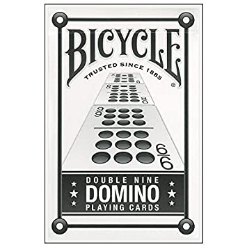 Bicycle Double Nine Domino Cards by Nemesis: Amazon.es: Juguetes y ...