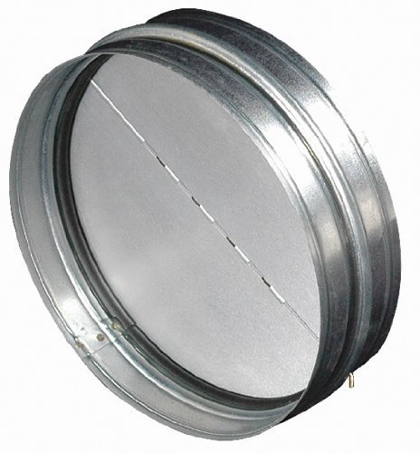 Air King BDD6R 6-Inch Round Back Draft Damper by Air King