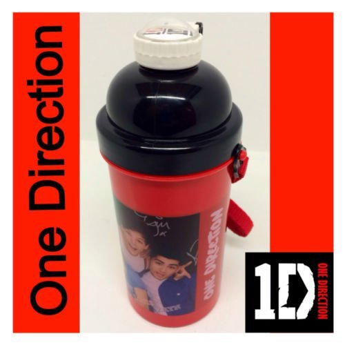One direction 500 ml Bouteille Pop up - Rouge