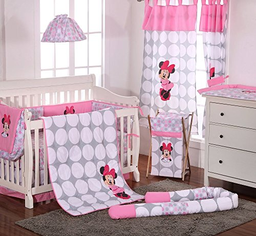 minnie mouse crib bumper - 7