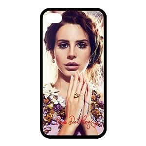 Custom Wonderland Lana Del Rey RUBBER Case for Apple iPhone 4 4S