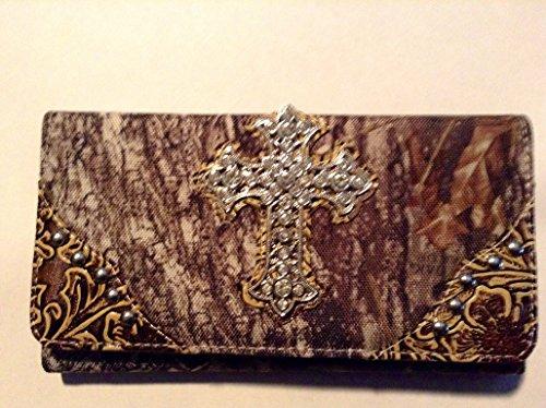 Mossy Oak Bling Cross Wallet