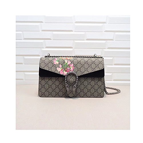 Dionysus Cross-body Bag for Womens Handbag Designer Fashion Single Shoulder Messager Bags-black (Gucci Fashion Shoulder Handbag)