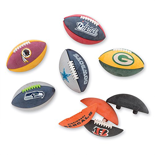 NFL Buildable Football Erasers - Prizes and Giveaways - 32 per Pack by SmileMakers (Image #1)