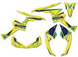 Senge Graphics All Years Can-Am Renegade 500/800X/800R/1000/1000R, Surge Yellow Graphics Kit