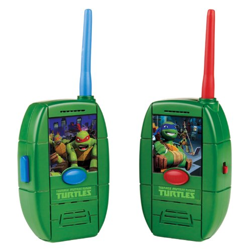 Teenage Mutant Ninja Turtles Shell Walkie Talkie