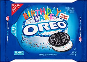 Birthday Cake Oreo Ice Cream Cake