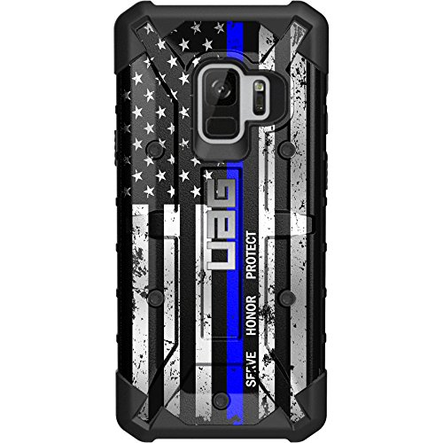 Limited Edition - Customized Designs by Ego Tactical Over a UAG- Urban Armor Gear Case for Samsung Galaxy S9 (Standard 5.8