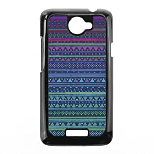Anchor Pattern 004 HTC One X Cell Phone Case Black TPU Phone Case RV_549363