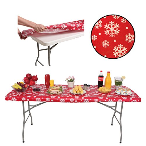 ATK ESSENTIAL PRODUCTS Party Tablecloth 6ft for Folding