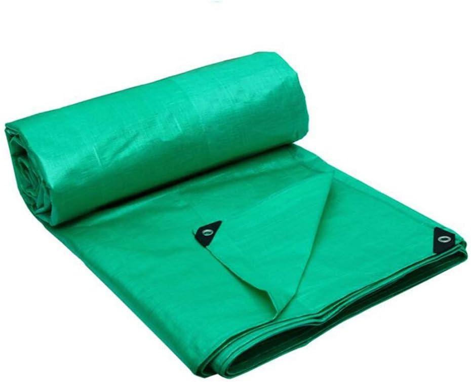 Color : Blue, Size : 10X6M TTXP PE Grand B/âche Double Face imperm/éable Robuste ext/érieur Pare-Soleil Pluie Camion Couverture Solaire Coupe-Vent Cargo Tissu Orange Bleu et Vert