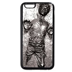 UniqueBox - Customized Personalized Black Soft Rubber(TPU) iPhone 6+ Plus 5.5 Case, Star Wars iPhone 6+ Plus 5.5 case, Star Wars Han Solo, Death Star, Darth Vader, Logo iPhone 6 Plus 5.5 case, Only fit iPhone 6 Plus 5.5